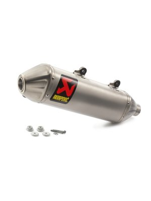 Akrapovic Slip-On Silencer 250/350 EXC-F 17-19