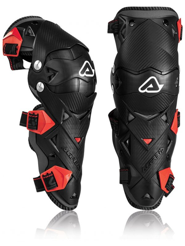 Наколенки Acerbis Impact Evo 3 Knee Guards WHITE