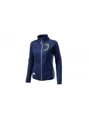 Дамско яке HUSQVARNA GIRLS BASIC LOGO ZIP JACKET