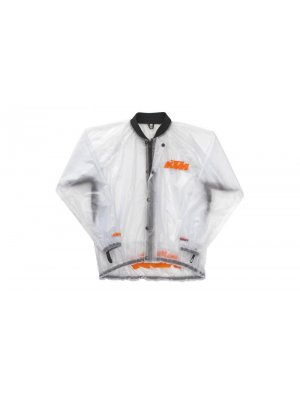 Дъждобран KTM RAIN JACKET TRANSPARENT 14