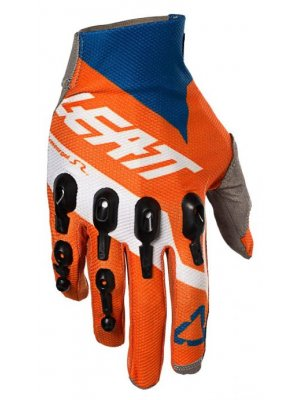 Ръкавици Leatt Glove GPX 4.5 Lite Orange/Denim