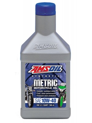 Amsoil 10W-40 Synthetic Metric 1L