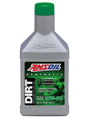 Amsoil 10W-60 Synthetic Dirt Bike Oil 1L