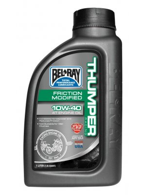 Bel Ray Thumper Friction Modified 10W40 1L