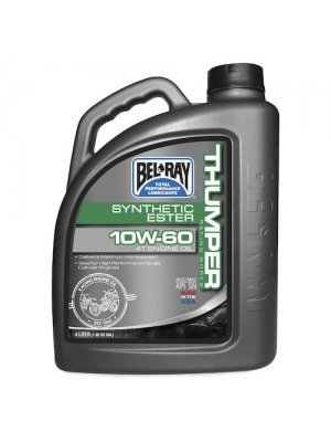 Bel Ray Thumper Racing Syn Ester 4T 10W60 Oil 4L