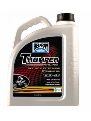 Bel Ray Thumper Synthetic Ester Blend 15W50 4L