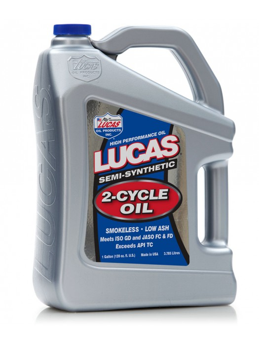 Lucas SEMI SYNTHETIC 2-CYCLE 3.7L