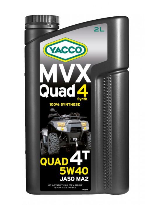yacco mvx quad 4t sae 5w 40. Black Bedroom Furniture Sets. Home Design Ideas