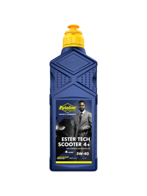 Масло Putoline Ester Tech Scooter 4+ 5W-40 1L