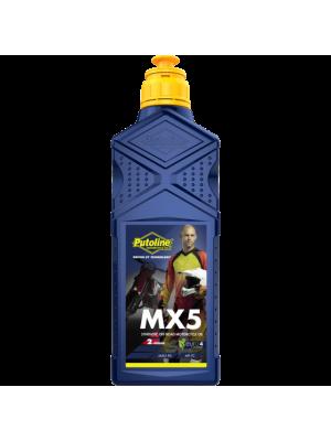 Масло Putoline MX5 2T 1L