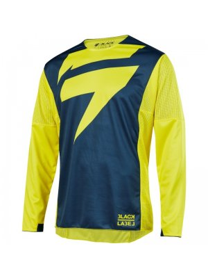 Блуза Shift 3LACK MAINLINE JERSEY YELLOW/NAVY