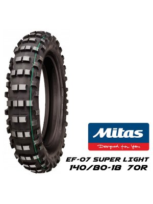 MITAS 140/80-18 EF-07 SUPER LIGHT една зелена лента