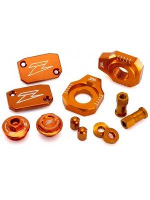 Комплект алуминиеви аксесоари Zeta за KTM EXC/EXC-F 250-500 06-18, SX/SX-F 250-350 06-12