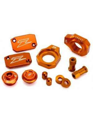 Комплект алуминиеви аксесоари Zeta за KTM SX 125/150 16-18, SX/SX-F 250-450 13-18