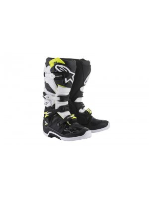 БОТУШИ ALPINESTARS MX TECH 7 BLACK/WHITE