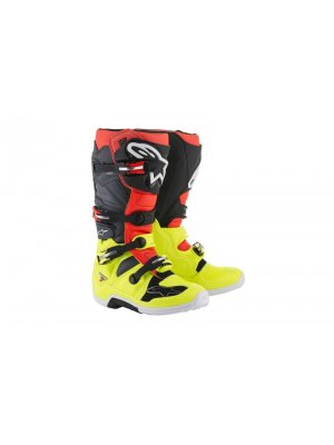 БОТУШИ ALPINESTARS MX TECH 7 Black Red Yellow