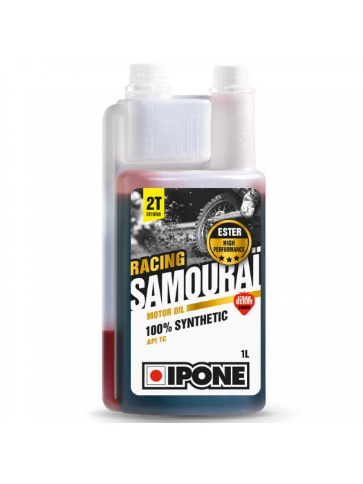 IPONE Samourai Racing Strawberry 1L 2T Oil