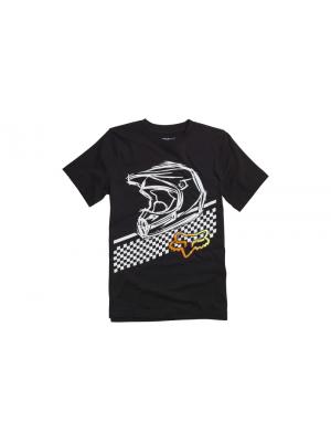 Детска тениска FOX YOUTH OLATHE BLK