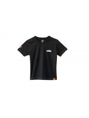 Детска тениска KTM KIDS RACING TEE BLACK
