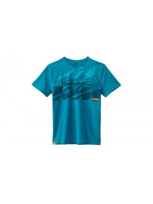 Детска тениска KTM KIDS SLICED TEE