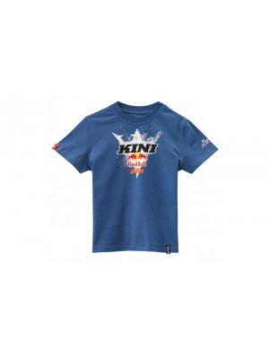 Детска тениска KTM KINI-RB KIDS STOMP TEE NAVY