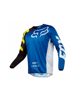 Блуза FOX 180 RACE BLUE JERSEY