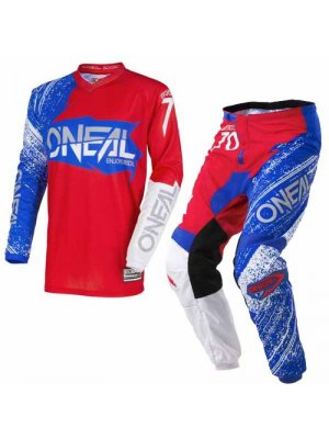 Крос екип O'NEAL ELEMENT BURNOUT RED/WHITE/BLUE 2018