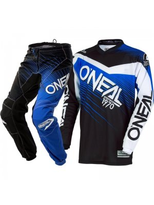 Крос екип O'NEAL ELEMENT RACEWEAR BLACK/BLUE 2018