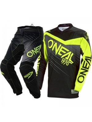 Крос екип O'NEAL ELEMENT RACEWEAR BLACK/HI-VIZ 2018