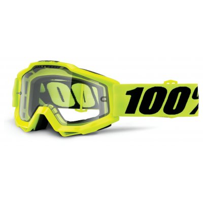 Очила 100% Accuri Fluo Yellow ENDURO ДВОЙНА ПЛАКА