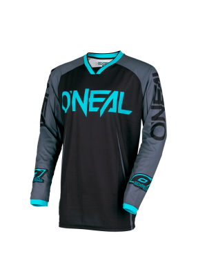 Блуза O'NEAL MAYHEM LITE BLOCKER BLACK/GRAY/TEAL