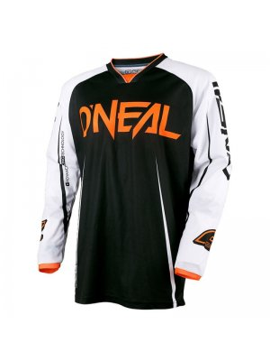 Блуза O'NEAL MAYHEM LITE BLOCKER BLACK/WHITE/ORANGE