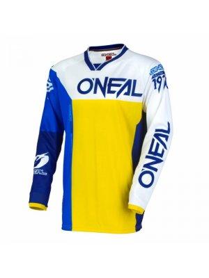Блуза O'NEAL MAYHEM LITE SPLIT BLUE/YELLOW