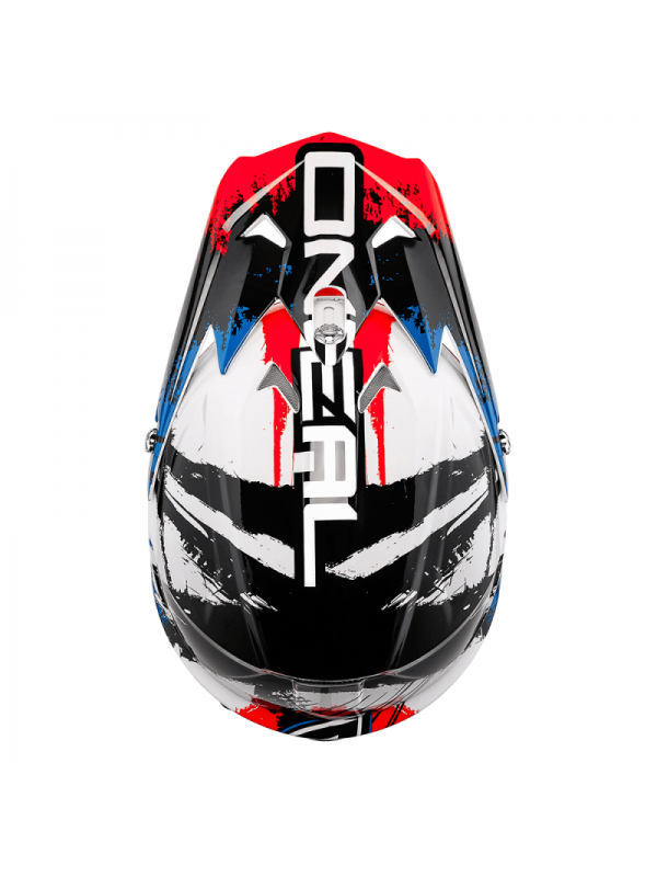 Каска O'NEAL 3 SERIES SHOCKER BLACK/ BLUE/RED