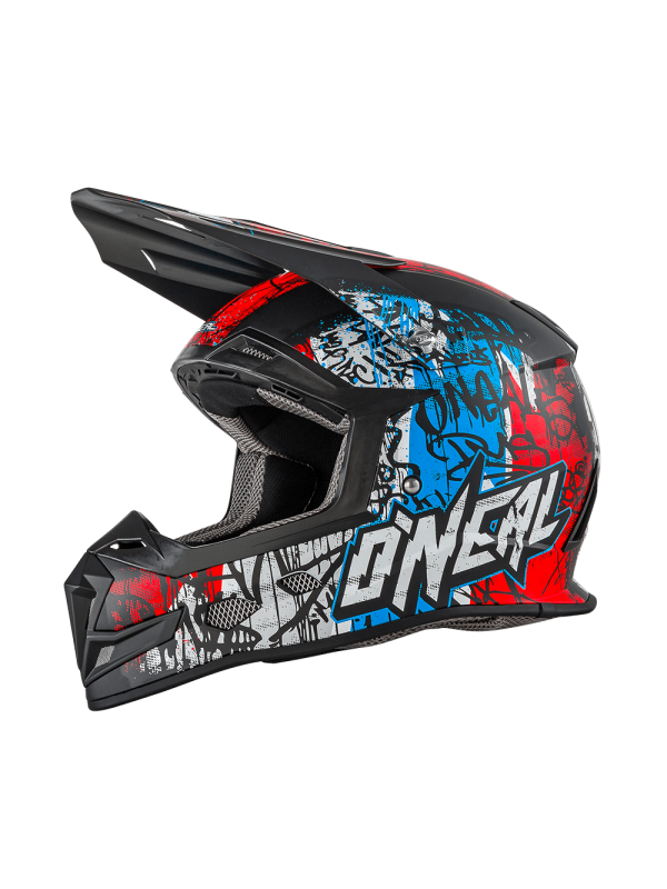 Каска O'NEAL VANDAL 5 SERIES BLUE/RED/WHITE