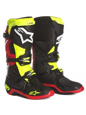 ALPINESTARS MX TECH 10 blue red white yellow