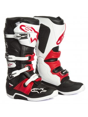 БОТУШИ ALPINESTARS MX TECH 7 black white red