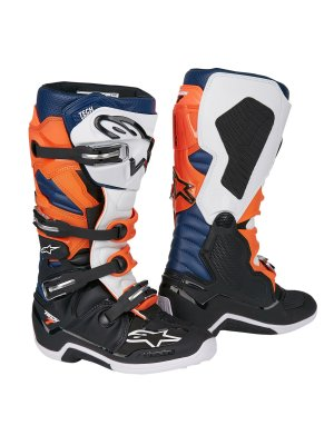 Ботуши ALPINESTARS TECH 7 BLACK/ORANGE/BLUE