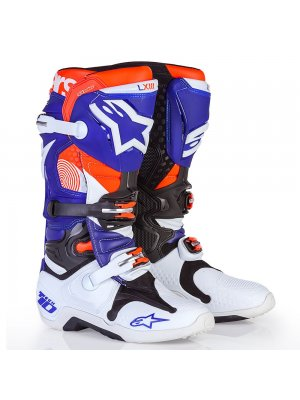 БОТУШИ ALPINESTARS MX TECH 10 white blue orange