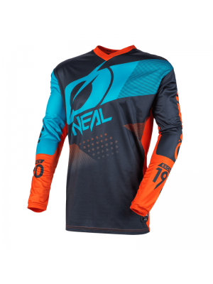 Детска блуза O'NEAL ELEMENT FACTOR GRAY/ORANGE/BLUE