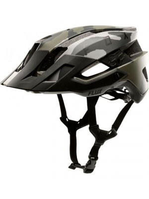 FOX FLUX HELMET SOLID GREEN CAMO