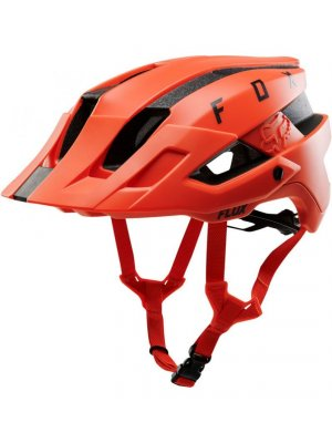FOX FLUX HELMET SOLID ORG CRSH