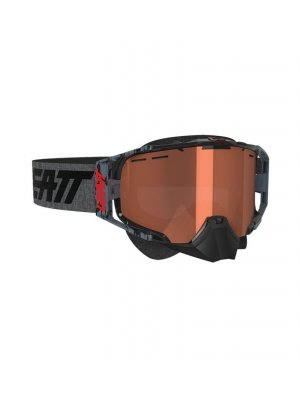 LEATT GOGGLE SNOWMOBIL VELOCITY 6.5 SNX BRUSHED ROSE UC 32%