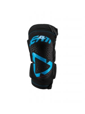 Leatt KNEE GUARD 3DF 5.0 ZIP FUEL/BLACK
