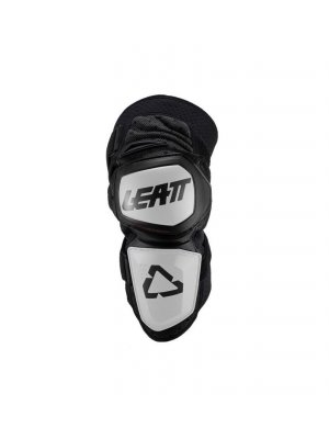 LEATT KNEE GUARD ENDURO WHITE/BLACK