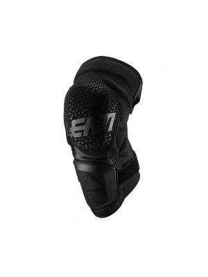 LEATT KNEE GUARD 3DF HYBRID BLACK