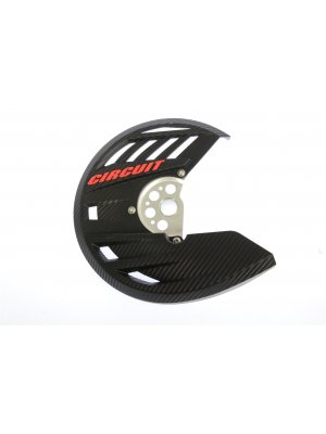 ПРЕДПАЗИТЕЛ Circuit disc guard plastic Carbon/Red '13/'18