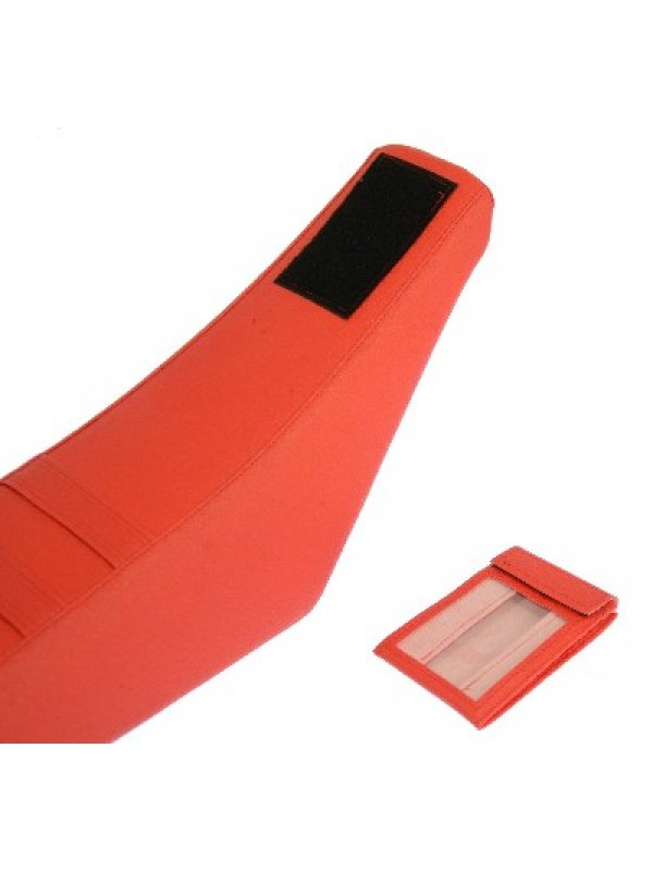 Калъф за седалка Seat cover Red with card holder