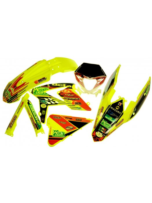 кит Graphics kit Team for plastics FLUO