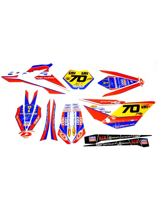 кит Holcombe World Champion Racing decals kit